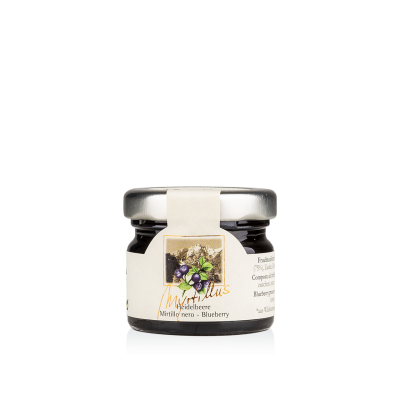Myrtillus fruit preserve Blueberry 28g