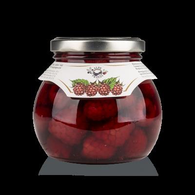 Raspera Raspberries in Syrup 340g