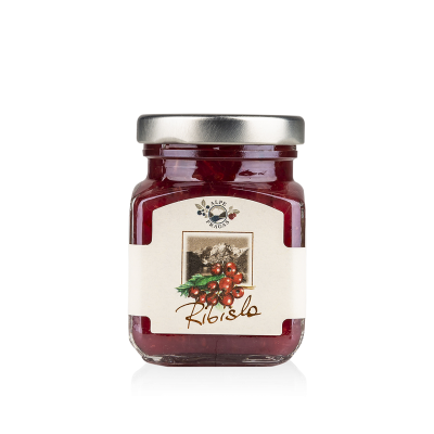 Ribisla fruit preserve Red currant 110g