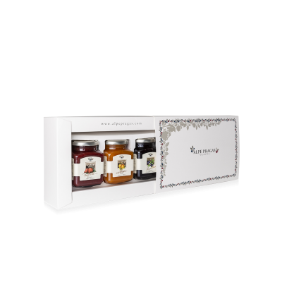 Gift box for 3 fruit preserves 335g