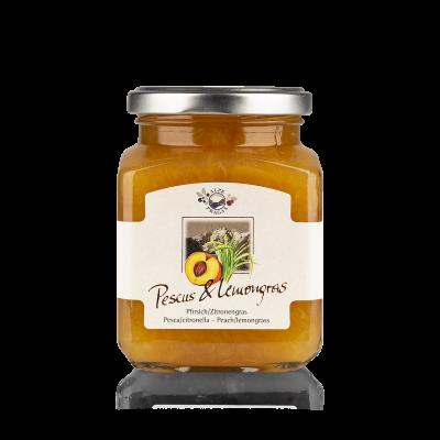 Pescus Lemongras composta di frutta Pesca & Citronella 335g