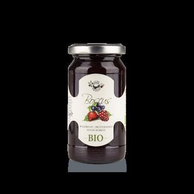 Boscus fruit preserve Mixed berries Organic 220g